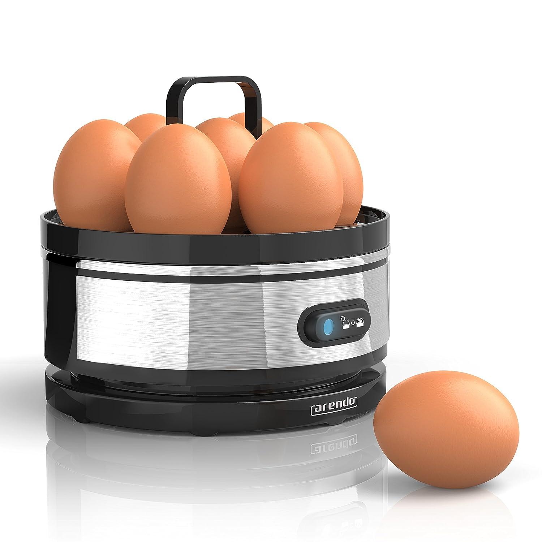 Arendo - Cuecehuevos de Acero Fino con función para Mantener los ...
