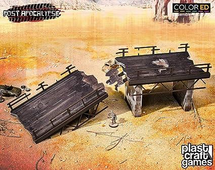 Amazon com: Plast Craft Games Post Apocalypse Colored Miniature