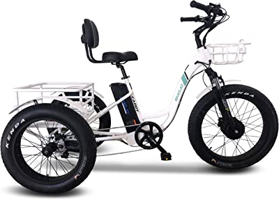 Emojo Caddy Pro Electric Tricycle