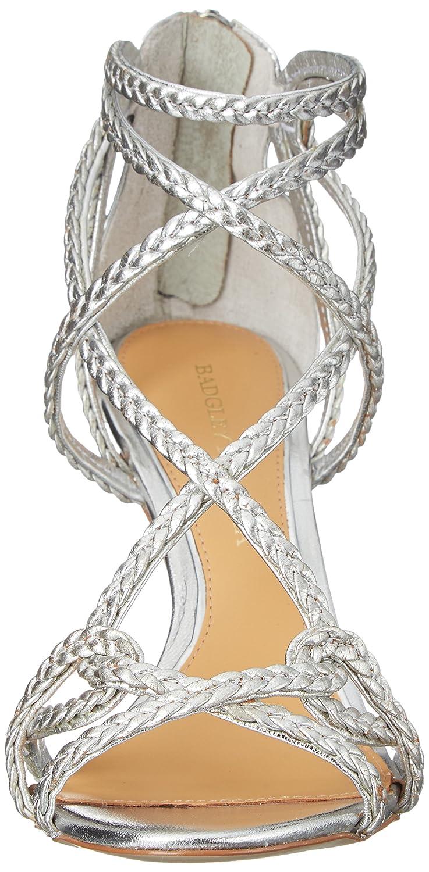 Badgley Mischka Women's US|Silver Evoke Dress Sandal 7.5 M US|Silver Women's B00T67S3KC d7989c