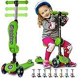 Amazon.com: S Skidee - Patinete para niños con asiento ...