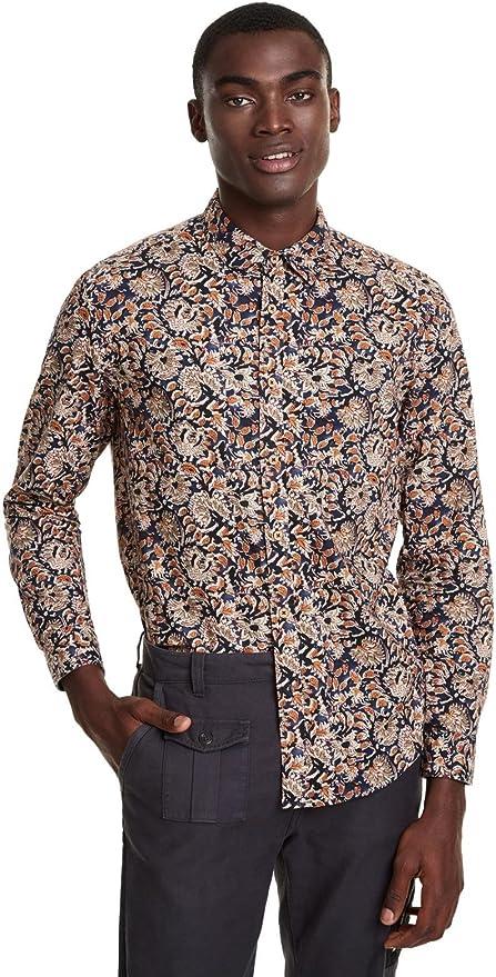 Desigual - Camisa Dani Hombre Color: 2086 Talla: X-Large: Amazon.es: Ropa y accesorios