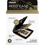 D'Addario Woodwinds RVCASE04 Reed Storage Case with Humidity Control Pack for Clarinet and Saxophone