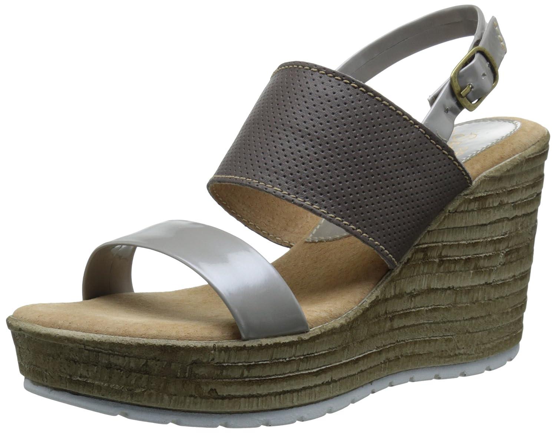 Sbicca Women's Cucamonga Wedge Sandal B011SHZBHK 10 B(M) US Stone