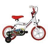 Sonic Kids' Sprite Wheel Bike, White, 12-inch