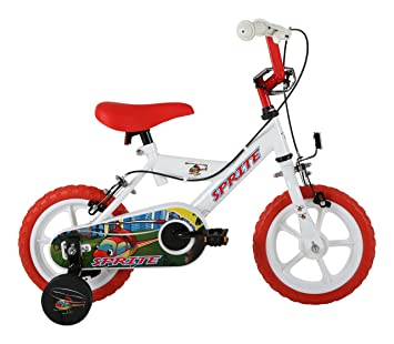 Sonic Sprite Kids Kids Bike White 1 Speed Mag Style Wheels Fully