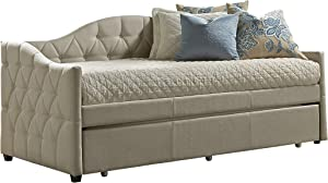 Hillsdale Furniture Jamie Daybed with Trundle, Beige