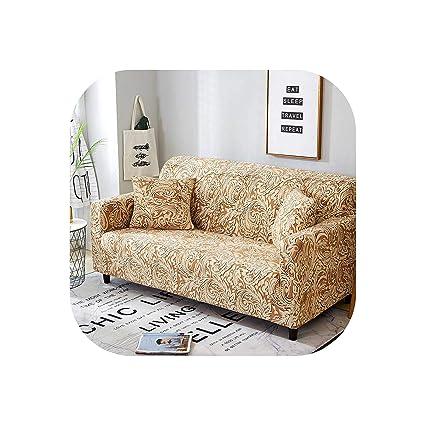 Amazon.com: Sofa Cover Stretch Cotton All-Inclusive ...