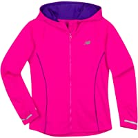New Balance Girls' Athletic Full Zip Hooded Jackets