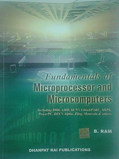 Microprocessor Book By B.ram