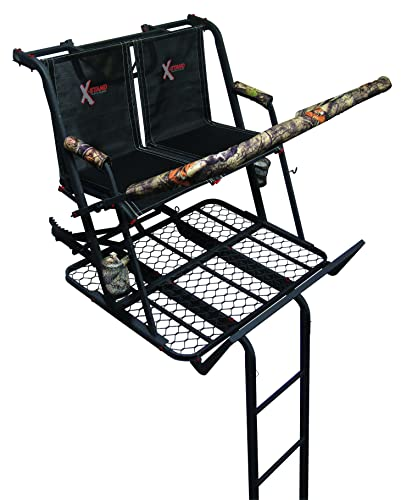 X-Stand The Jayhawk Ladder Stand, Black