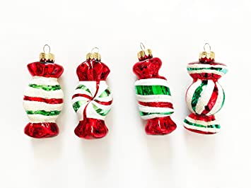 red green and white candy christmas ornaments hobby lobby - Candy Christmas Decorations Hobby Lobby