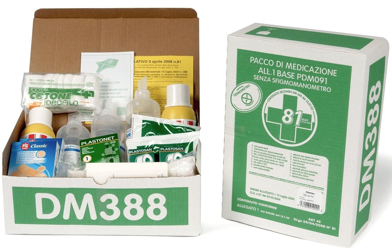 KIT de primeros auxilios primeros-restituir anexo 1 paquete de medicación para tensiómetro sin buzón médica primer primeros auxilios para las explotaciones ...