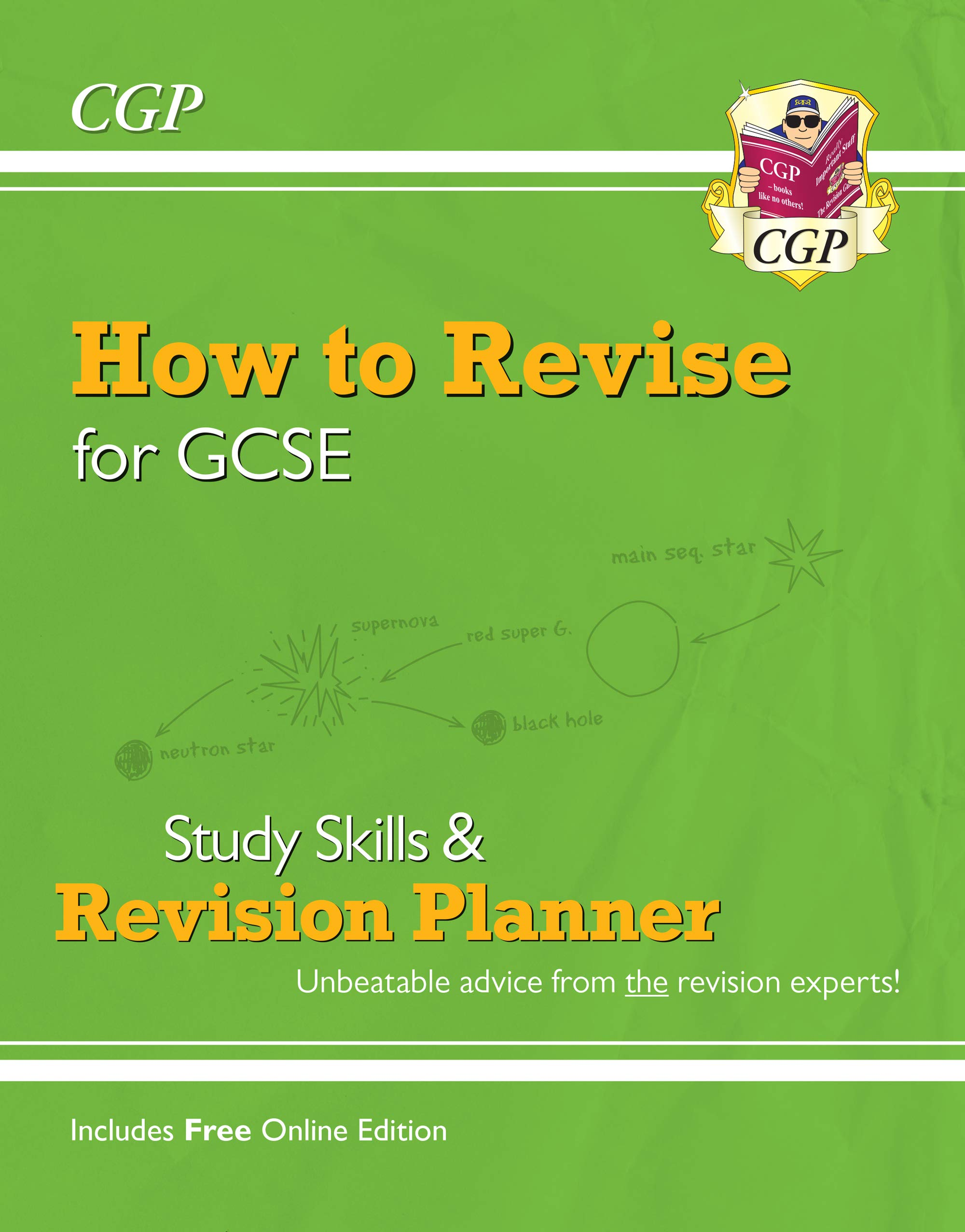 How to Revise for GCSE: Study Skills & Planner - from CGP