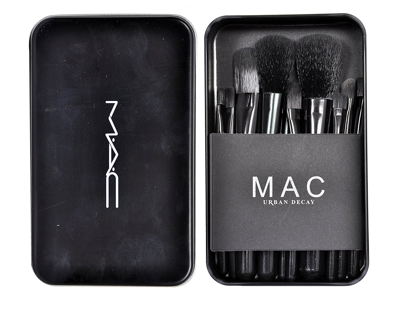 M.A.C Makeup Brush Set (12pcs/set)