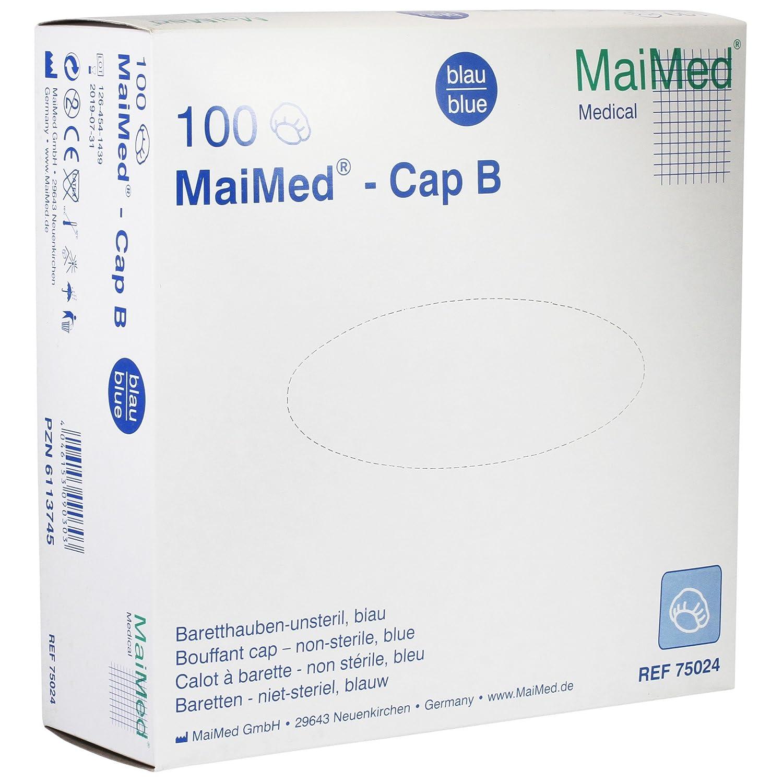 Barett hauben 100 unidades/caja Op funda protectora Protector de cabeza para hermana de una vez Campana maimed: Amazon.es: Salud y cuidado personal