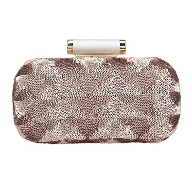 Clutch Bonjanvye es Fashion Fiesta Sequin Mujer CoffeeAmazon oexrdCWB