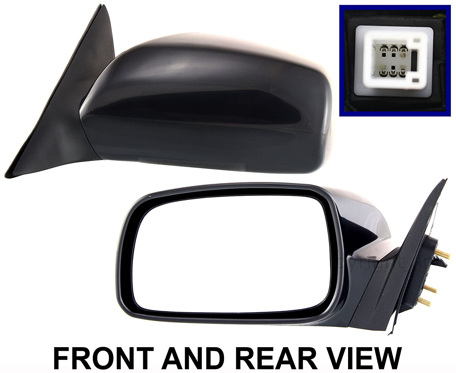 CAMRY 07-11 SIDE MIRROR LEFT DRIVER, Power, USA Built US