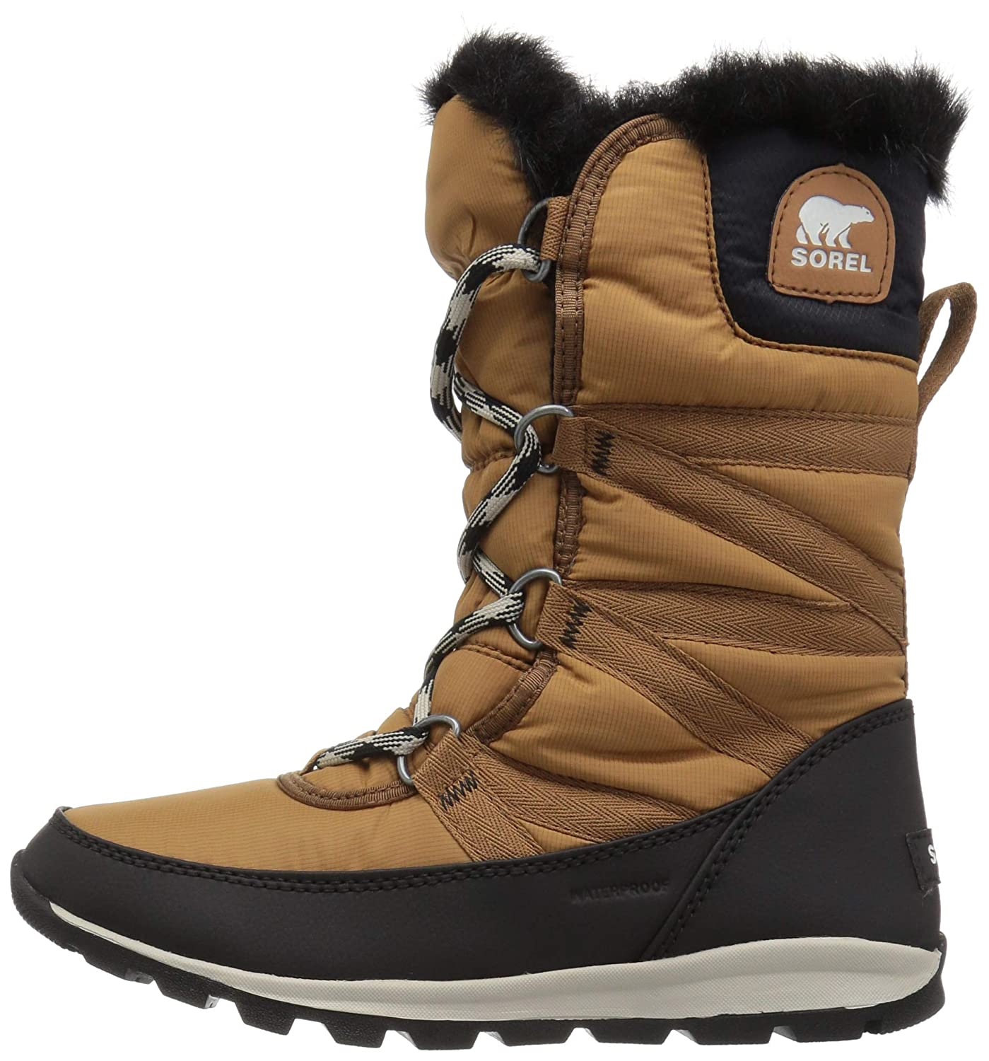 Sorel Womens Whitney Tall Lace Snow Boot