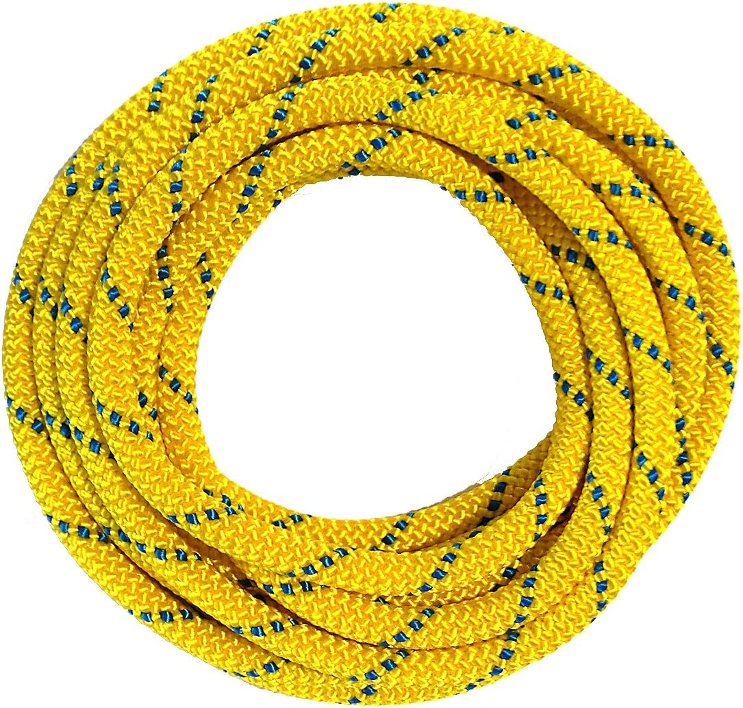 OmniProGear 8mm Lime prusik cord 11ft MBS 16.44kN 3700lbs 20/% stronger USA