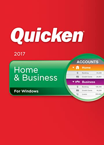 Quicken Home & Business 2017 Personal Finance & Budgeting Software  [Download] (Old Version)