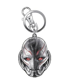 Monogram Marvel Avengers 2 Ultron Cabeza estaño Llavero