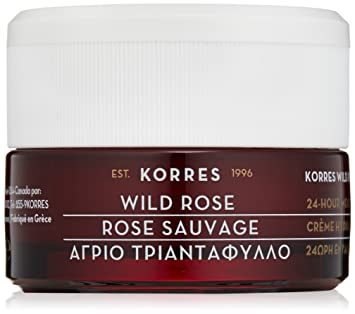 6 Pack - Korres 24-Hour Moisturising and Brightening Cream, Wild Rose 1.35 oz Bare Minerals Skinsorials kit for Normal to Dry Skin Travel size