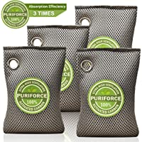 4-Pack Puriforce Coconut Charcoal Air Purifying Bags