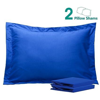 standard pillow shams. NTBAY 100% Brushed Microfiber Standard Pillow Shams Set Of 2, Soft And Cozy, O