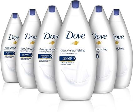 Dove - Pcrema hidratante corporal, pack de 6 (6x 500ml): Amazon.es ...