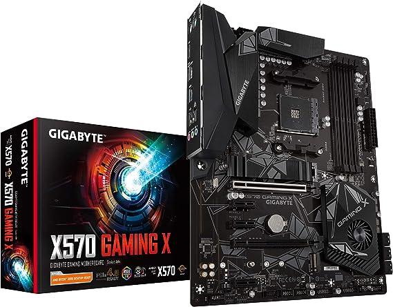 Gigabyte X570 Gaming X (AMD Ryzen 3000/X570/ATX/PCIe4.0/DDR4/USB3.1/Realtek ALC887/HDMI 2.0B/RGB Fusion 2.0/Realtek GbE 8118 LAN/Gaming Motherboard)