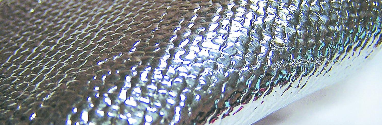 Sellstrom 97406-5 Aluminized Fiberglass High Temperature Resistant Fabric Blanket, 12' Length x 6' Width, Silver/White 12' Length x 6' Width Sellstrom Manufacturing Company