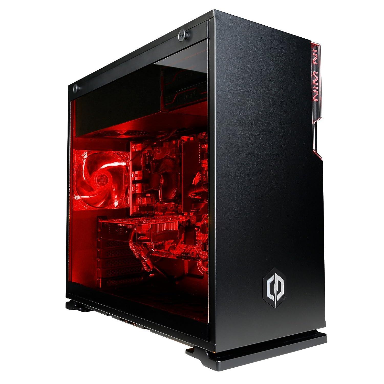 CyberpowerPC Warrior i7-1060 Gaming PC - Intel Core i7-8700, Nvidia GTX  1060 6GB, 16GB RAM, 240GB SSD, 2TB HDD, 400W 80+ PSU, Wifi, No OS, Inwin 101