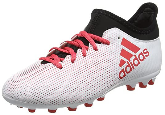 low cost 7ddc9 9cf40 Amazon.com  adidas Kids Youth Football Shoes Boys Boots X 17.3 AG Cleats  White New CP9001  Soccer