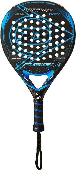 Dunlop Pala Pádel Fusion 1.3 Negro/Azul Única: Amazon.es: Deportes ...