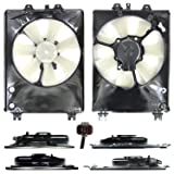 CPP Radiator Cooling Fan Assembly for 2007-2009