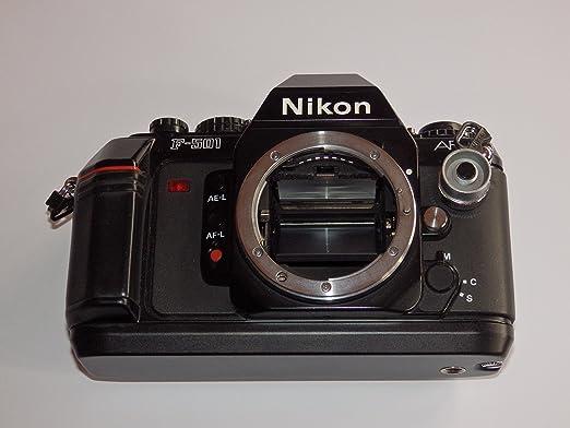 Nikon F de 501 – Sólo la cámara AF Body – 35 mm Camera – réflex ...