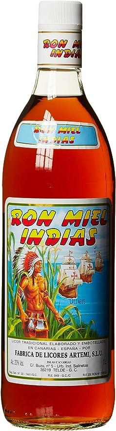 Ron miel indias, miel Rum licor, Kana rische Islas (1 x 1 l)