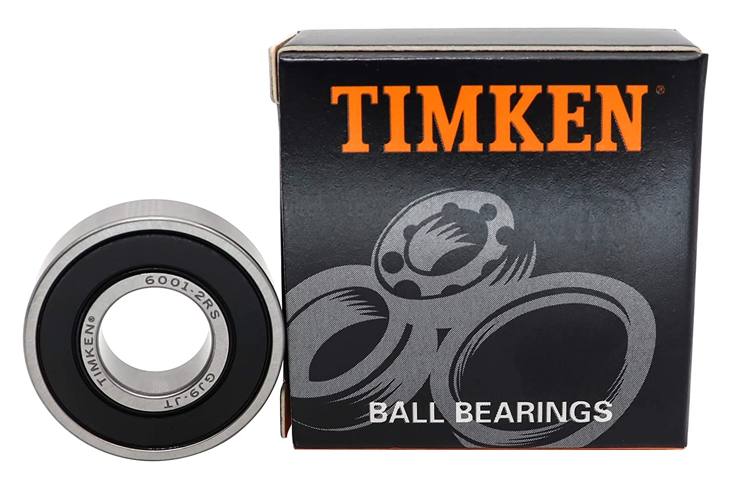 brand on sale clearance TIMKEN 6001-2RS 4 Pcs Double Rubber Seal ...