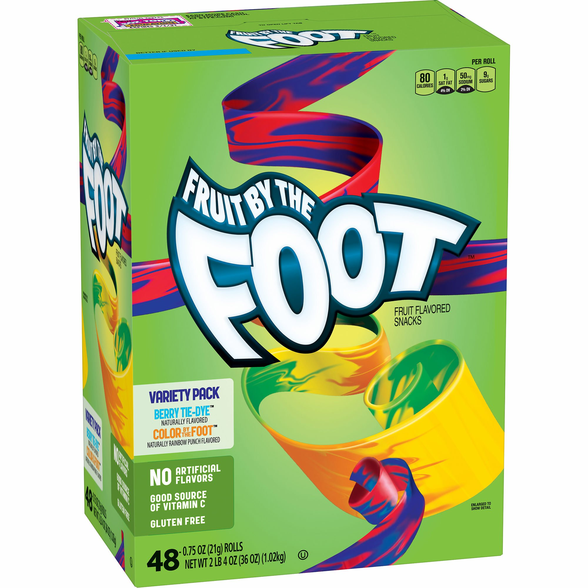 Betty Crocker Fruit By The Foot Variety Pack, 48 ct. by Betty Crocker