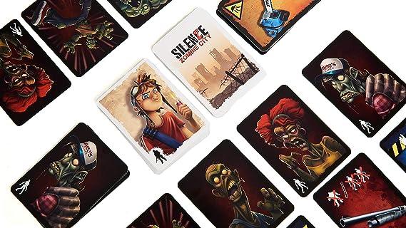 Tranjis games - SilenZe: Zombie City - Juego de Mesa (TRG-018zom): Amazon.es: Juguetes y juegos