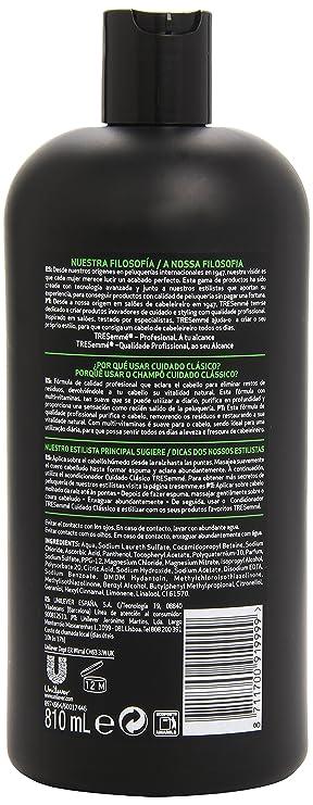 TRESemmé Cuidado Clásico Champú para Todo Tipo de Cabello - 810 ml: Amazon.es: Amazon Pantry