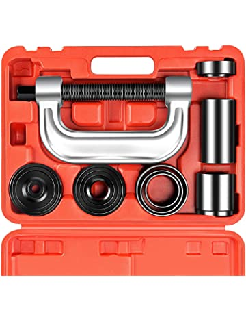 OrionMotorTech Heavy Duty Ball Joint Press & U Joint Removal Tool Kit with 4x4 Adapters,