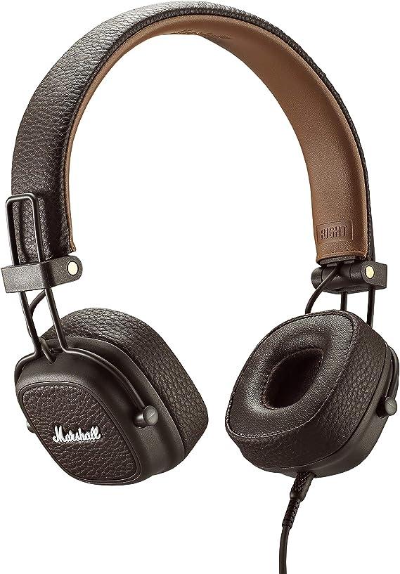 Marshall Major III Casque Audio Filaire Marron