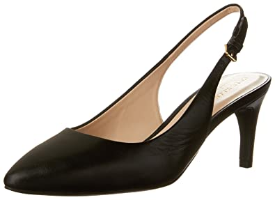 Cole Haan Women's Medora Sling Pump, Black Leather, ...