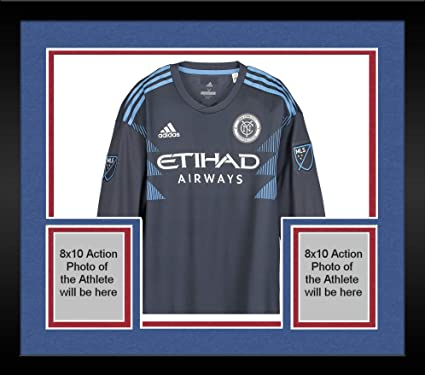 520beee6f Framed David Villa New York City FC Autographed Player-Issued Gray ...