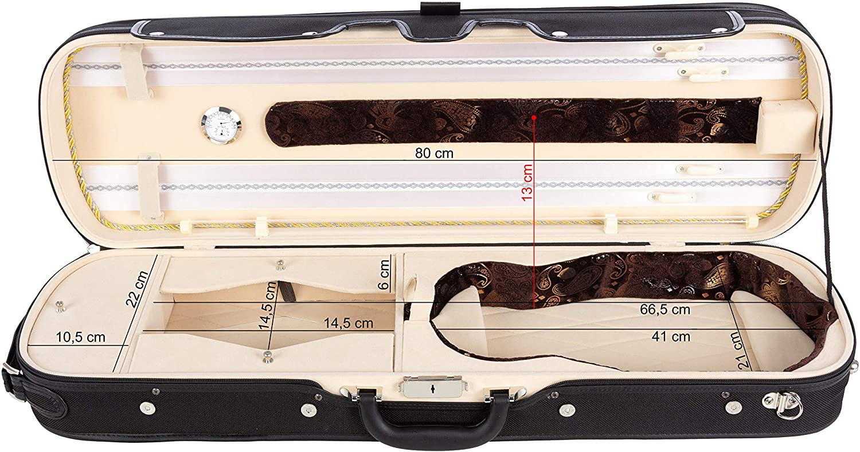 Estuche para violín madera Lord 4/4 cream M-Case
