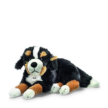 Amazon Com Steiff Sigi Bernese Mountain Dog Plush Black Brown