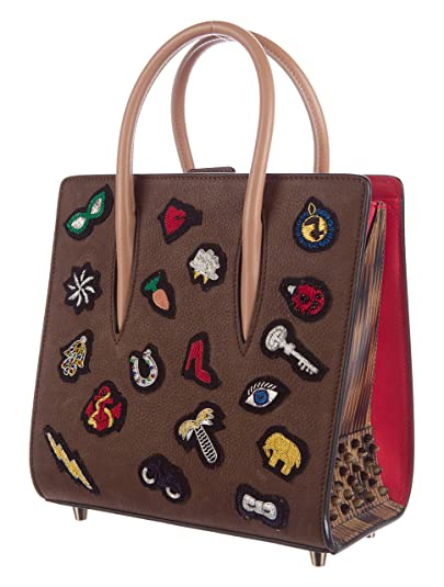 e106e7d3b7 Image Unavailable. Image not available for. Color  Christian Louboutin  Paloma Small Ecussons Calf  2280 Authentic Purse New