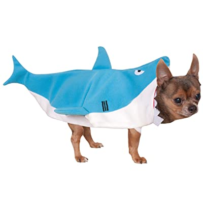 Rubie's Shark Pet Costume, Large: Toys & Games
